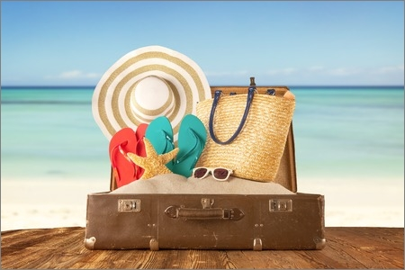 holiday suitcases -travel with core cars