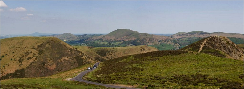 Long Mynd panorama - days out